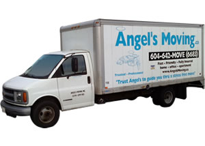 Angel's Small Moving Truck for apartments