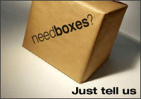 Need boxes for moving - we deliver moving boxes to your door